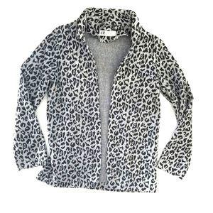 H&M   Girl's Animal Cheetah Print Blazer